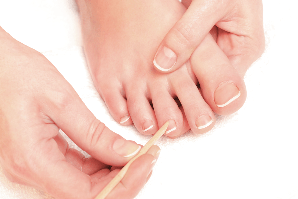Polo Alto pedicure cuticles