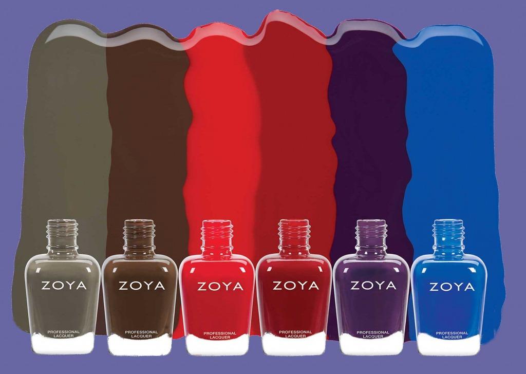 Stanford Zoya nail polish