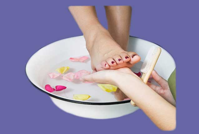 nails clinic pedicure